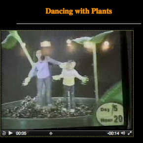 Dancing with plants