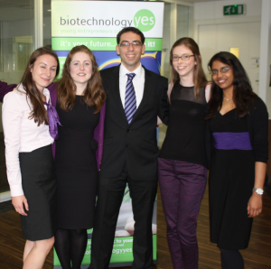 The Warwick Biotechnology YES team.